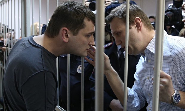 Alexei and Oleg Navalny